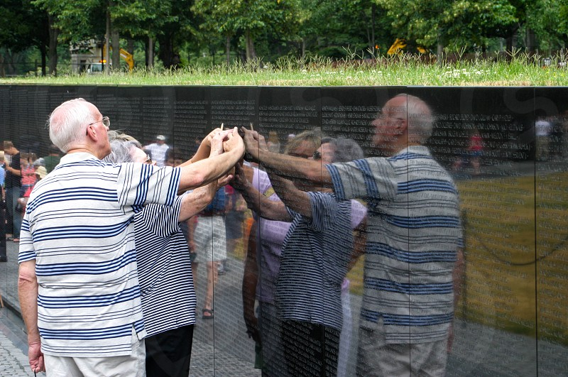 Vietnam Memorial. Washington D.C. photo