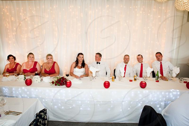 bridal table photo