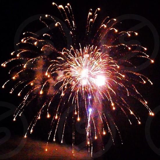 fireworks macro shot photo