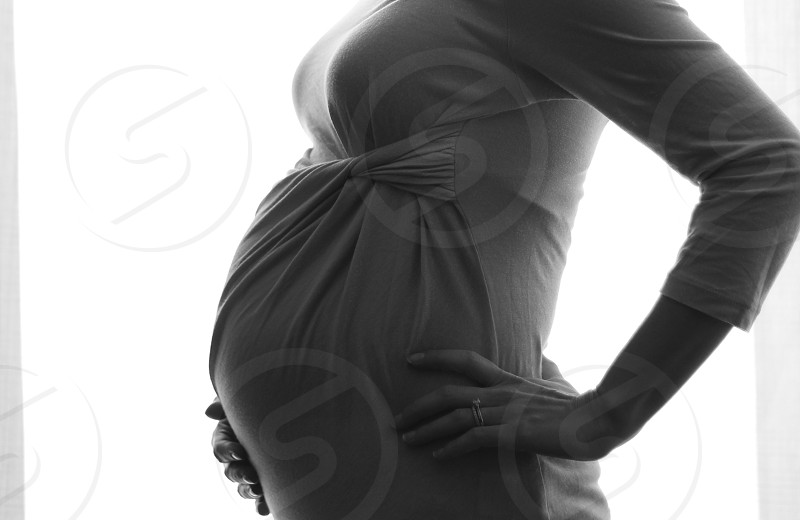 Pregnancy natural light  photo