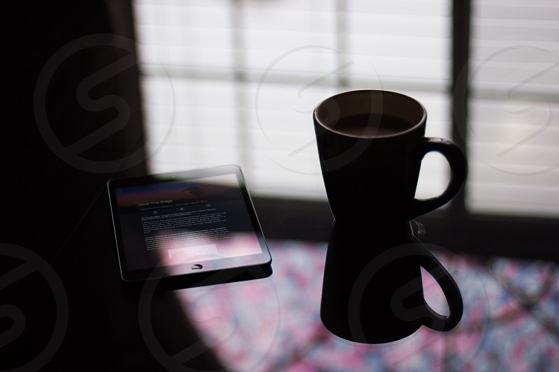 Morning cup of coffee photo
