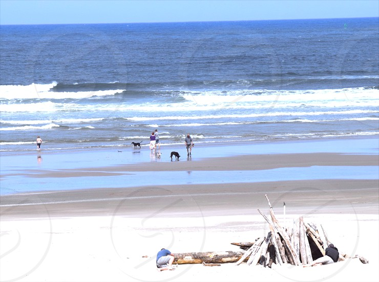 A day at the beach South Beach State Park Oregon photo