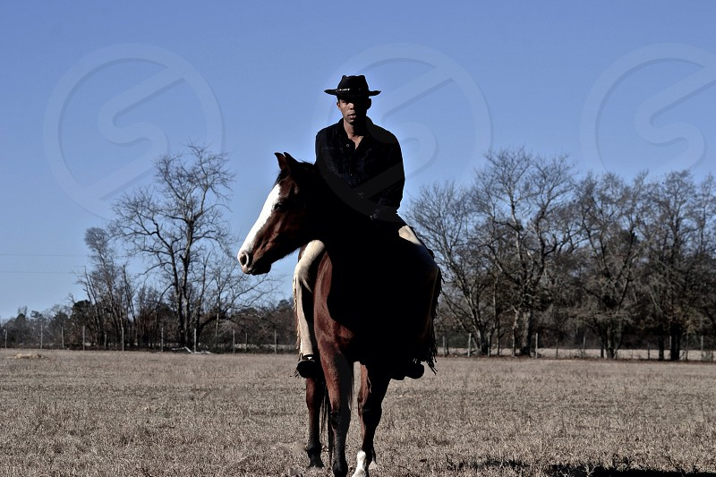 To ride a horse well you must have respect patience and must be willing to allow time to get to know the horse you are riding  photo