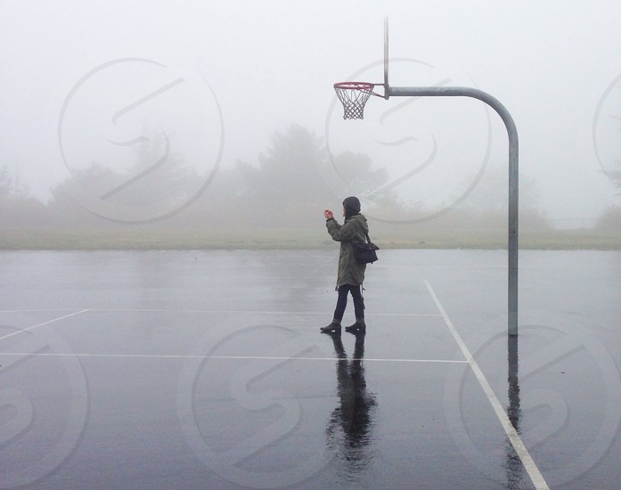 Photo Walk come rain or fog....I-Phone 5 photo