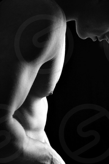 Portrait Body Contrast Abstract Male Body High Contrast Art Bnw Muscles Body Art By Sal Anthony Photo Stock Snapwire
