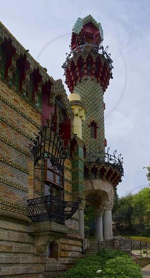 Capricho de Gaudí Comillas - Spain photo