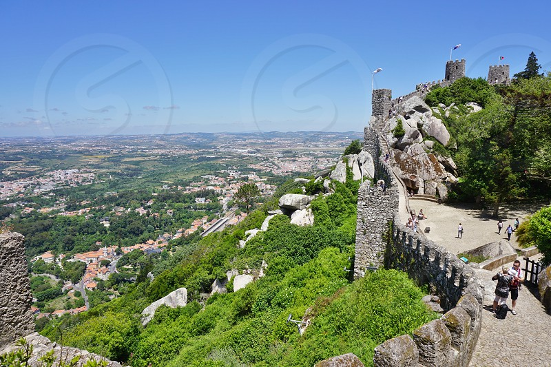 Castle of the Moors - Sintra Portugal photo