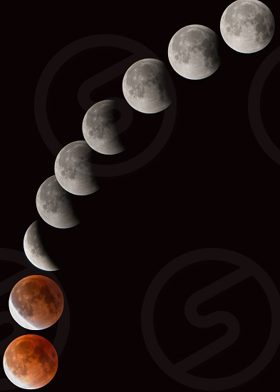 lunar to solar eclipse cycle photo