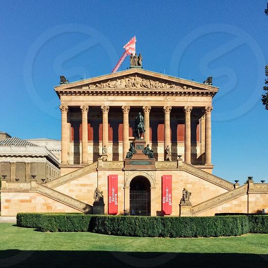 Alte Nationalgalerie Berlin Germany photo