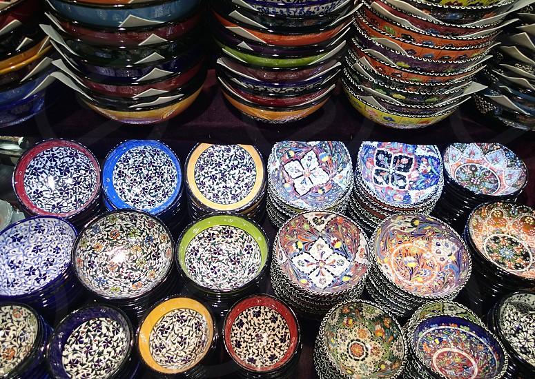 Istanbul market photo