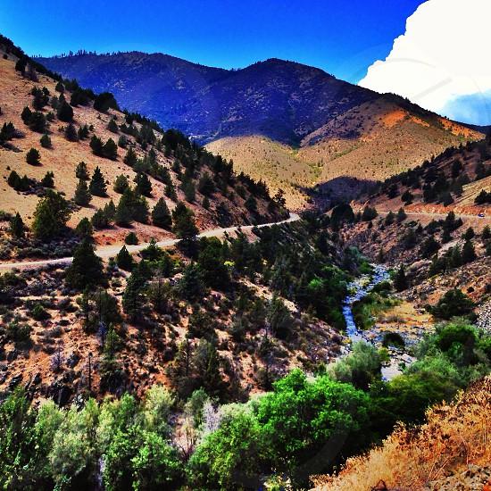 Canyon shot in Northern Yreka CA  photo