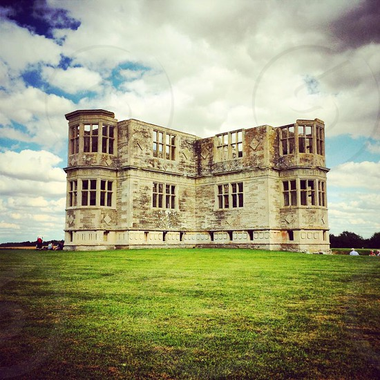 Lyveden New Bield Historic Building in Northamptonshire England  photo