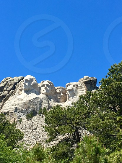 Mount Rushmore South Dakota Family vacation Summer vacation Beautiful view Black hills  photo