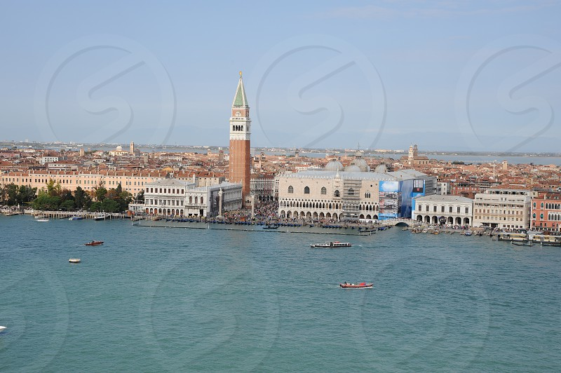 Venice Italy from high of San Marco Square photo