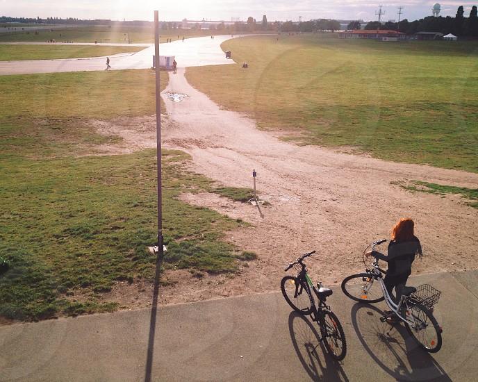 Bike at Tempelhofer park photo