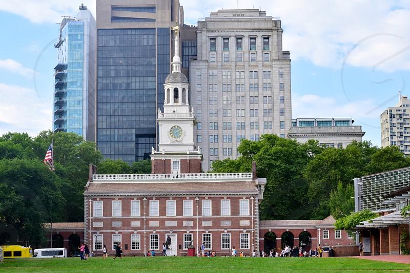 Travel Franklin Square Philadelphia photo