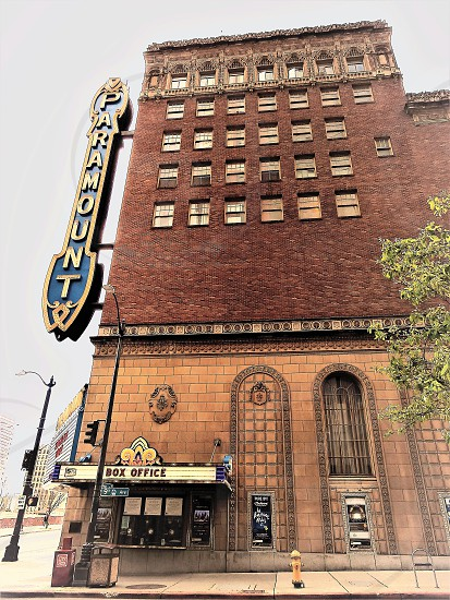 Historical Paramount Theater Seattle Washington photo
