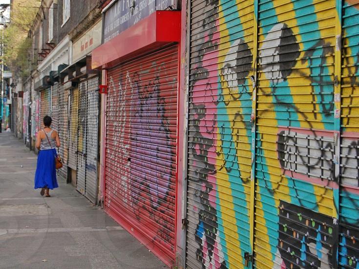 london street art photo