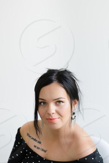 Portrait of a woman.  photo