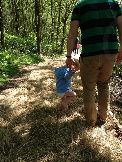 Barefoot walking photo