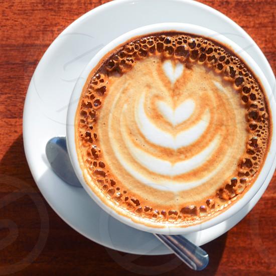 pumpkin latte latte coffee cafe beverage photo