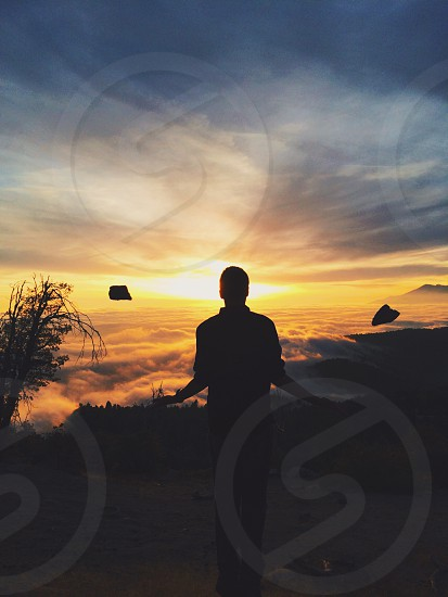 Be at peace meditate photo