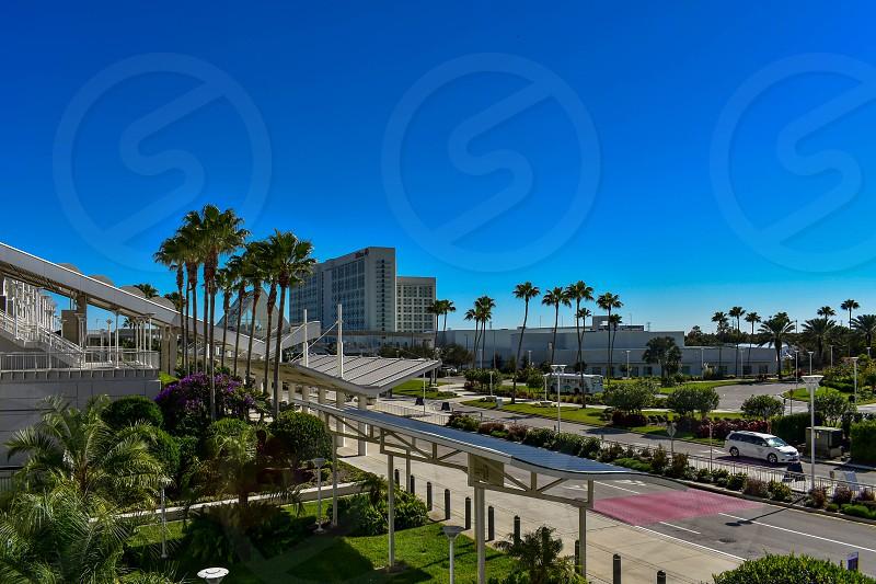 Orlando Florida. January 12 2019. Panoramic view of Orlando Convention Center area at International Drive  (1) photo