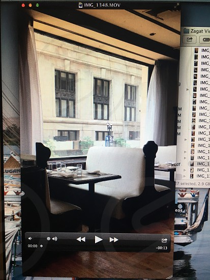 Video screenshots for Zagat project photo