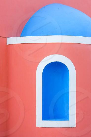 Colourful details seen on a Greek island. photo