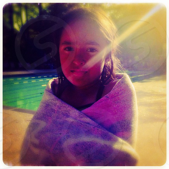 Amerasian girl photo
