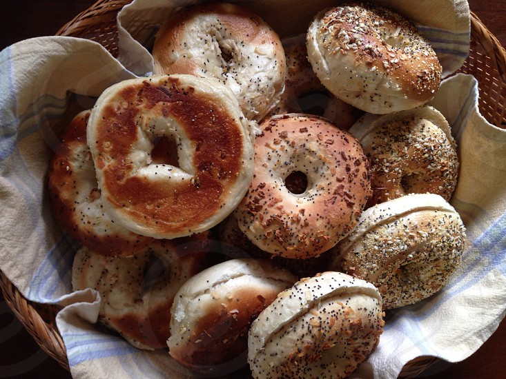 Bagels breakfast food  photo