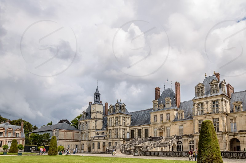Fontainebleau Palace in France photo