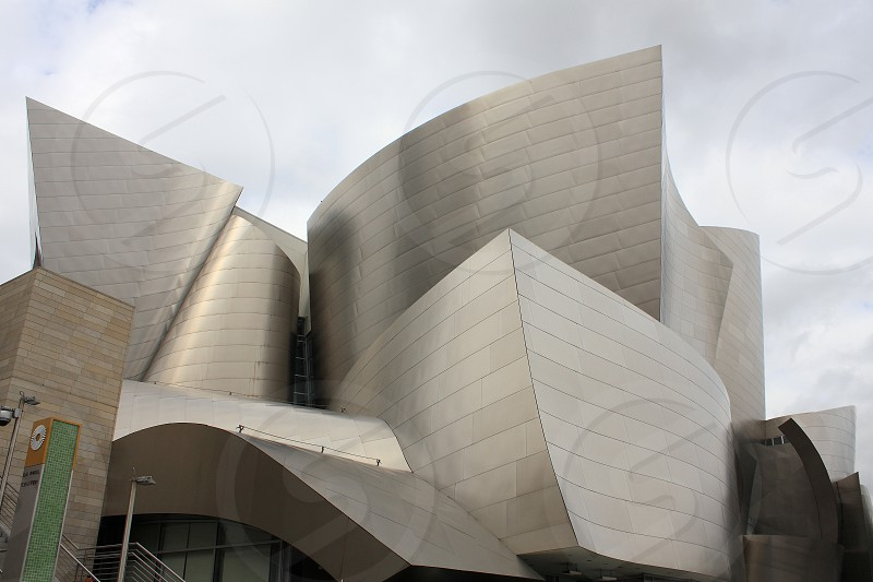 Walt Disney Concert Hall at downtown Los Angeles. photo