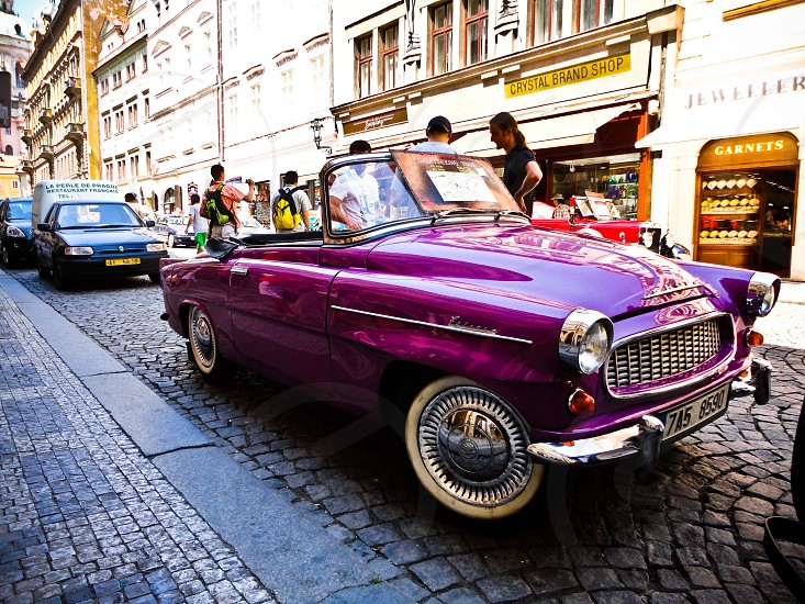 Car in Prague photo