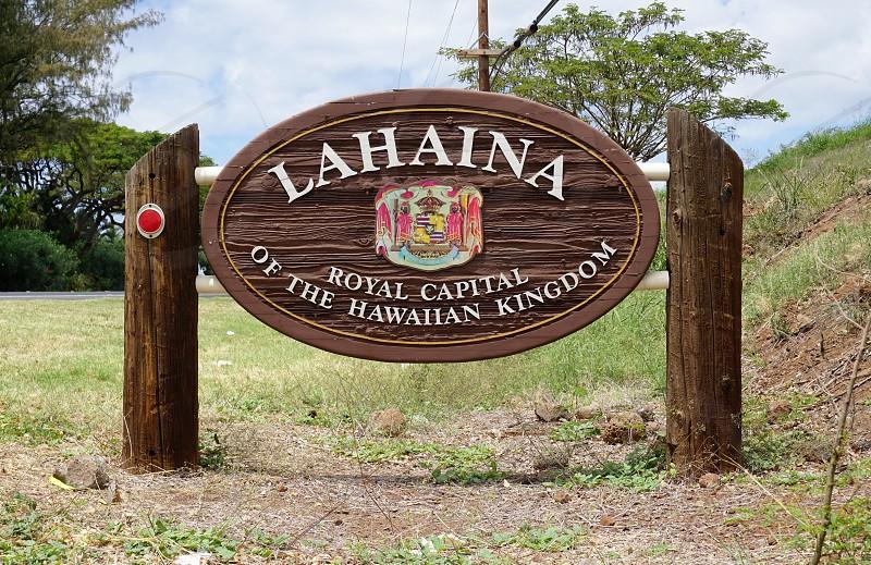 Lahaina in Maui County Hawaii photo