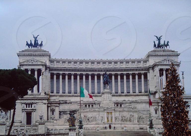 The Altare della Partia in Rome Italy photo