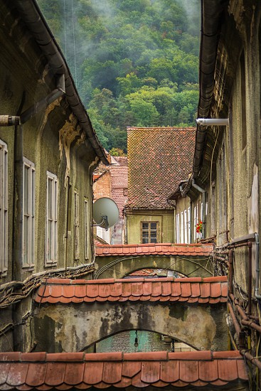 Brasov Romania alleyway photo