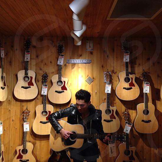 Gotta love the guitars! photo