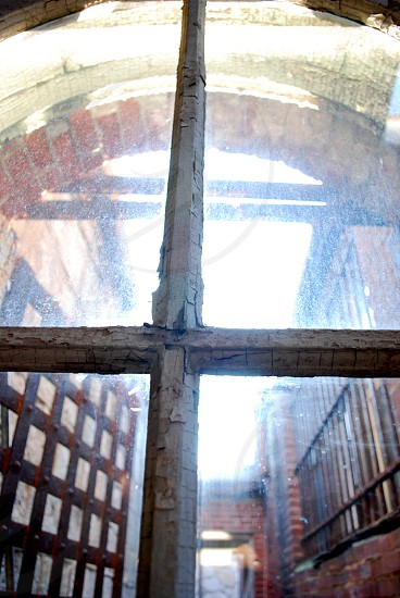 Abstract Eastern State Penitentiary Philadelphia Architecture Macro.  photo
