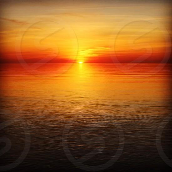 Lake Ontario Sunset Lake Ontario Lake Ontario Canada Sunset photo