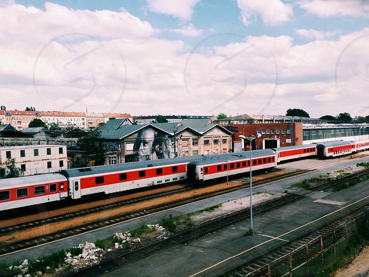 Berlin rail system  photo