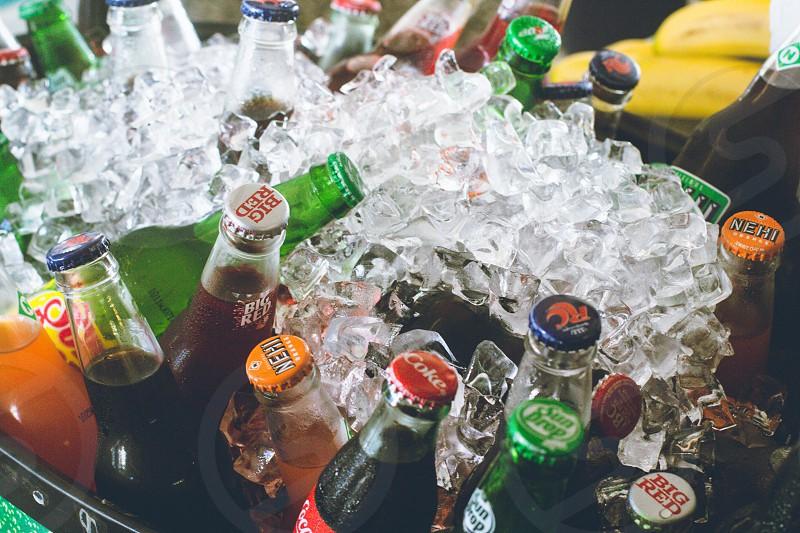 sodas. photo
