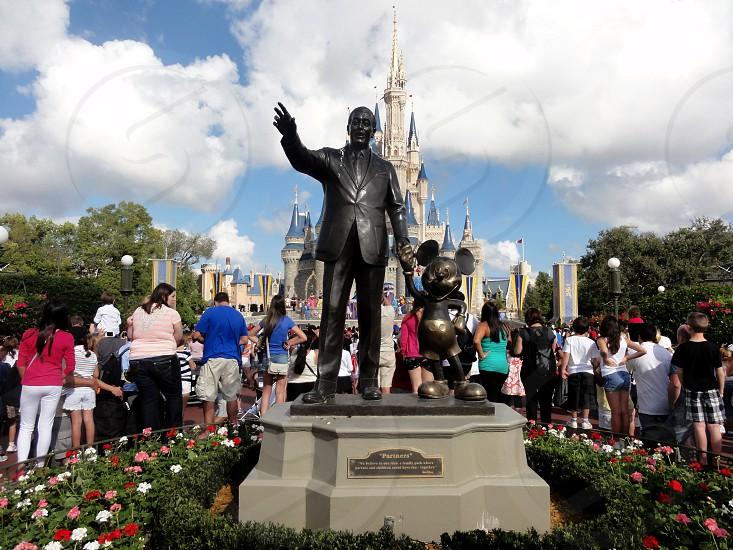 Magic Kingdon Walt Disney Orlando USA. photo