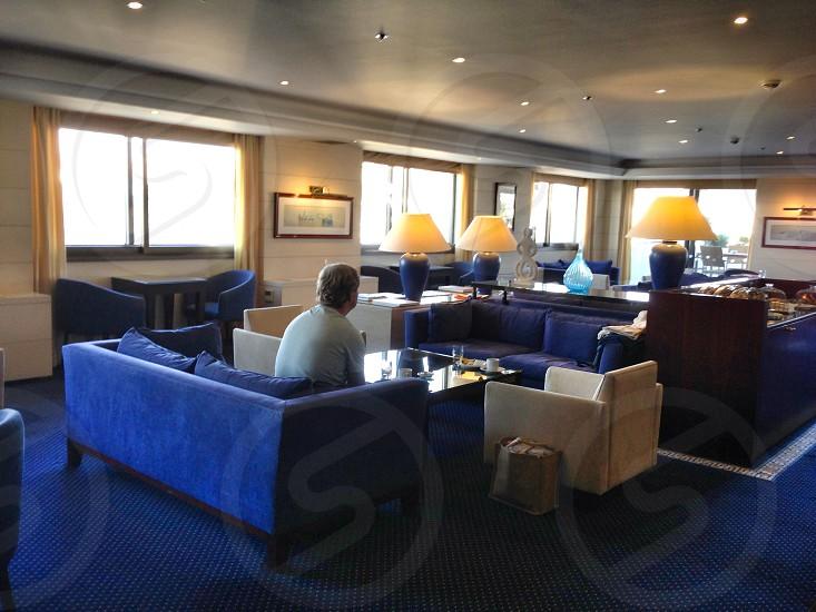 Intercontinental Hotel Club Lounge photo