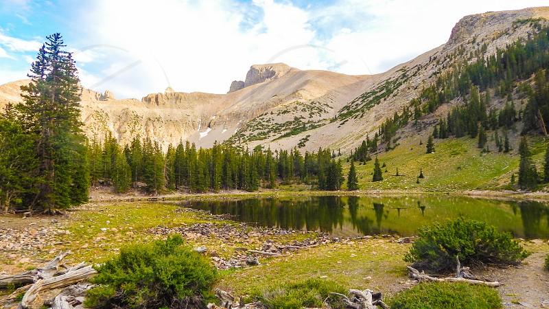 Wheeler Peak at Great Basin National Park in Nevada photo