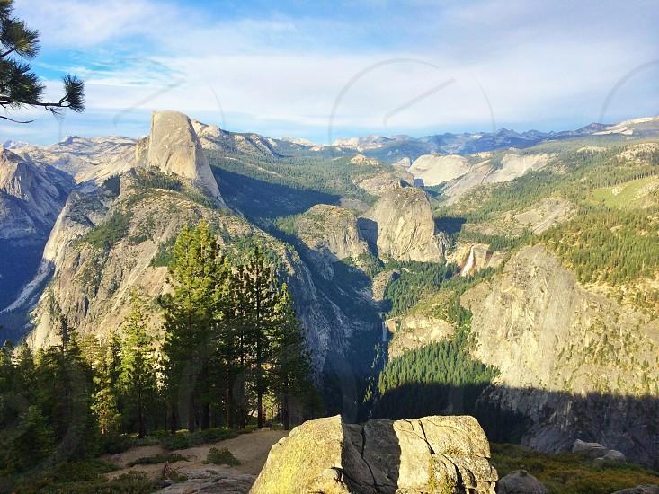 mountain range photo