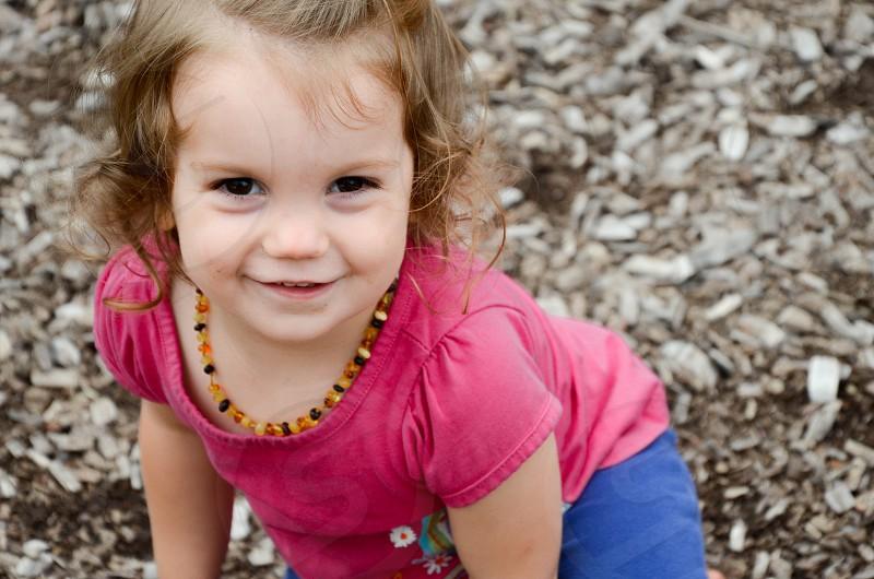 Charlotte at the playground. photo