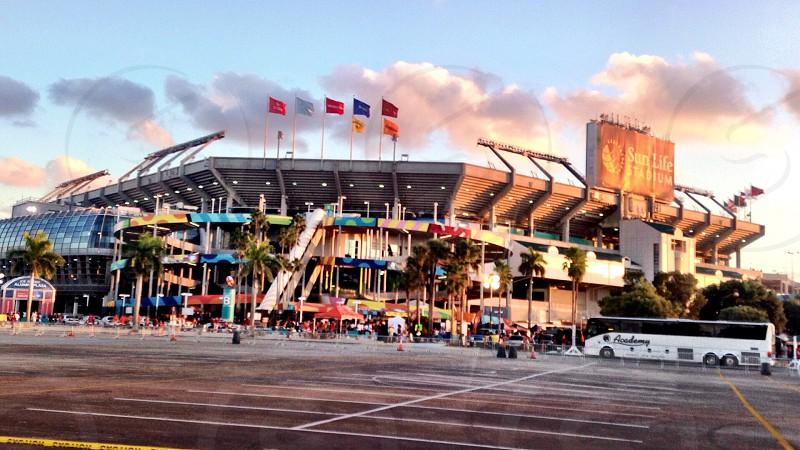Miami UM FOOTBALL Sun life stadium  photo