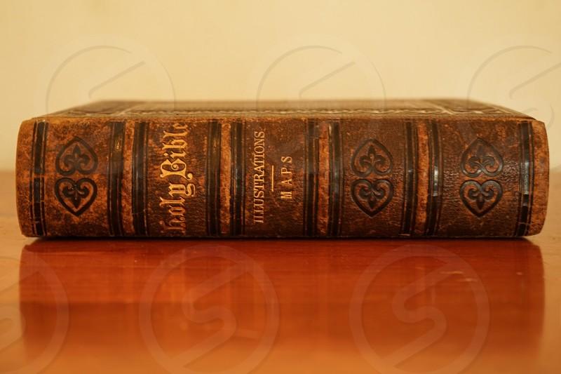 Antique bible  photo