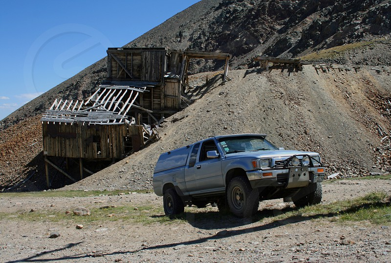 SR5 at abandoned mine in Colorado photo